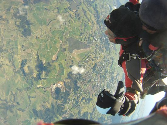 The Skydive Zone: Up in the air