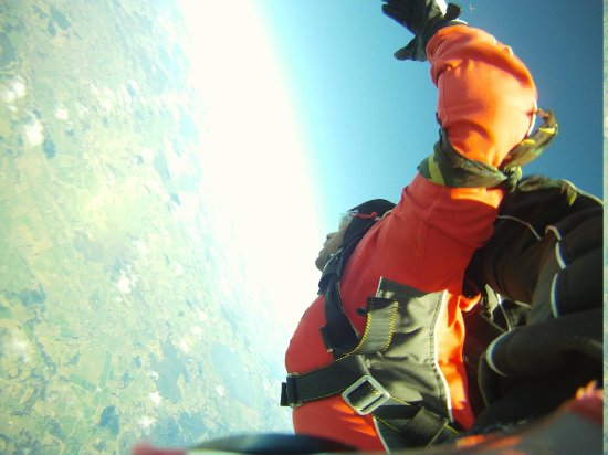 The Skydive Zone: Free falling
