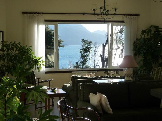 Hosteria Le Lac: ventana estar