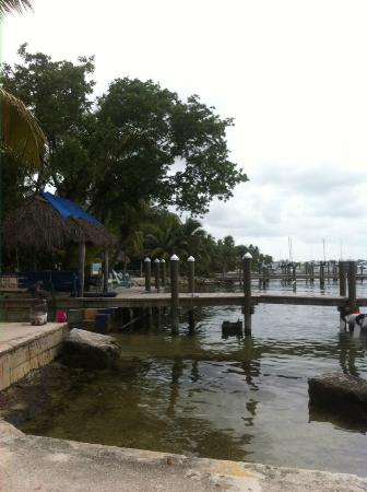 The Pelican: boat launch and ocean area