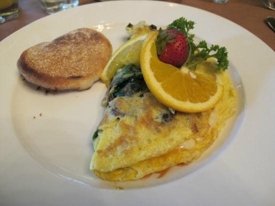 Loews New Orleans Hotel: breakfast