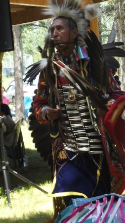 White Sea Resort: Sheshewaning reserve PowWow