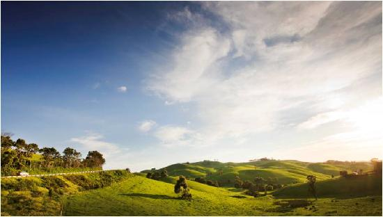Ruby, ออสเตรเลีย: Rolling hills of South Gippsland