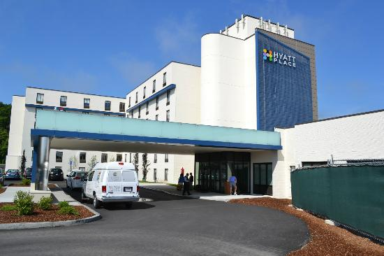 Hyatt Place Boston/Braintree: Front of Hotel
