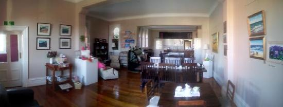 St Arnaud Old Post Office Apartments: Tea Room Overview