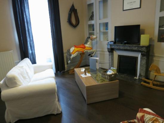 Les Epicuriens - chambres d'hotes : living room