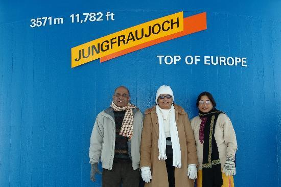 Alpin Center Interlaken : Top of Europe,a landmark of Swiss Tourism
