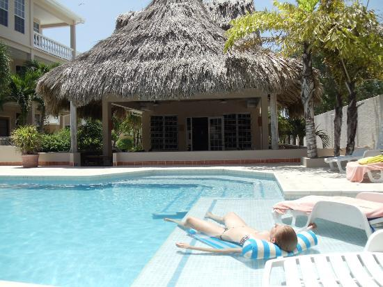 Iguana Reef Inn: The Pool and Lounge Area