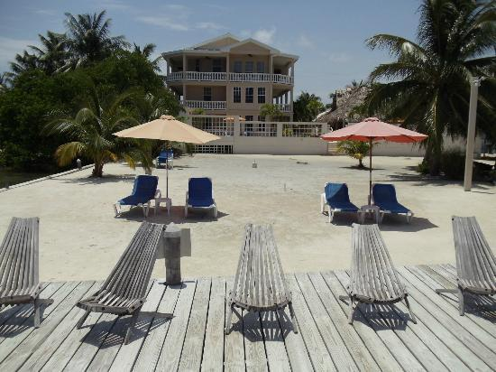 Iguana Reef Inn: A View of the Hotel from the Deck Area