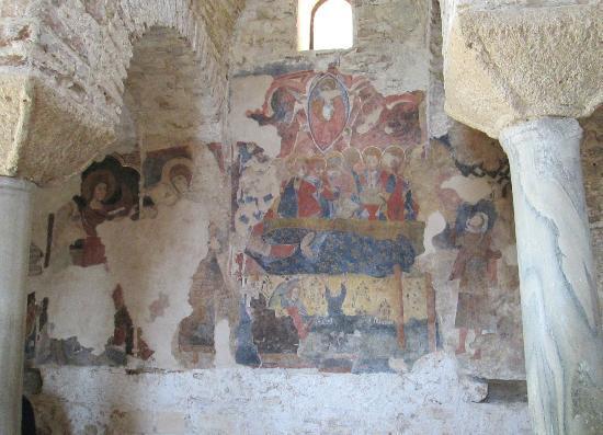 Cattolica di Stilo: Cattolico Fresken