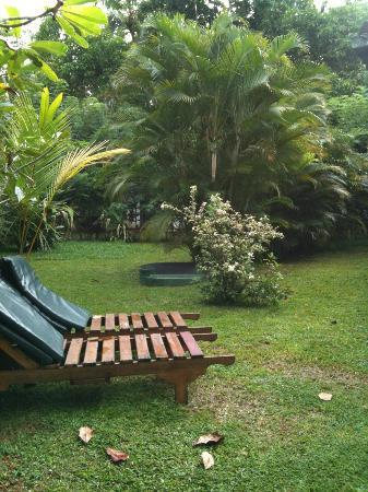 Dalmanuta Gardens - Ayurvedic Resort & Restaurant: outside our room