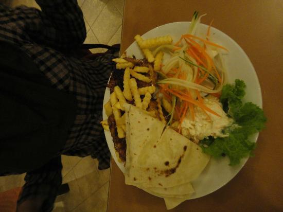 Telaga Seafood Restaurant: My grilled chicken!