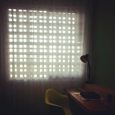 Stevie G Hotel: The light from the room corner
