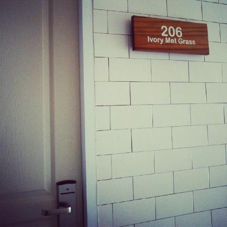 Stevie G Hotel: Room 206
