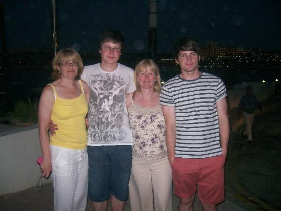 White Dolphin Holiday Complex : My family