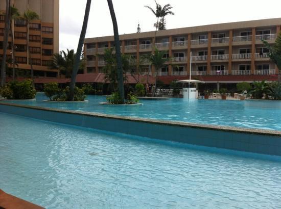 Nouvata: hotel et piscine