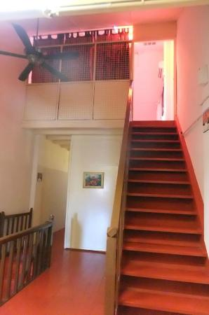 Boutel Heritage House, Jonker St: Stairs To Attic Room