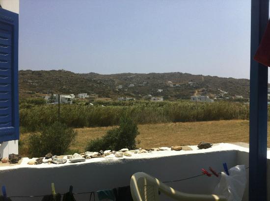 Helios Beach Studios: Blick von Balkon