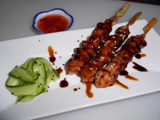 Sushi & Kushi: Hähnchen-Kushi (kleine Grillspieße)