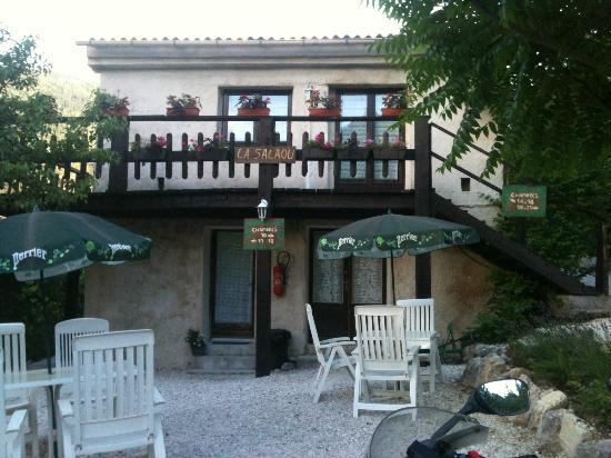 Moulin de la Salaou Hotel Restaurant : esterno camere