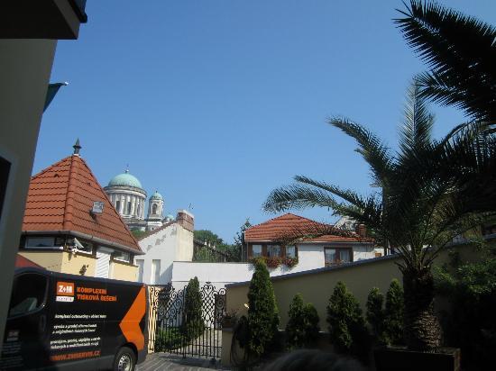 Alabardos Panzio: View from the patio