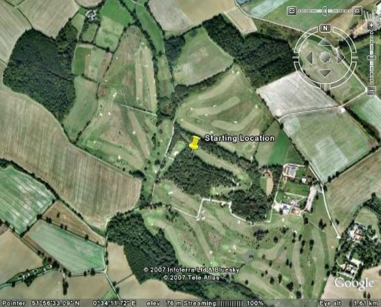 Halstead, UK: Aerial view