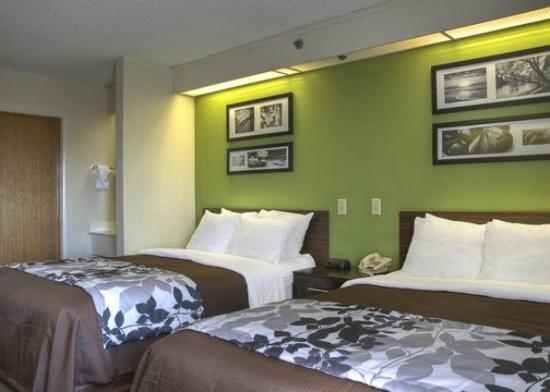 Sleep Inn Nashville: TNDouble Room