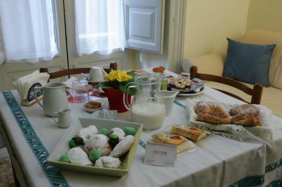 Picone Bed Breakfast: colazione