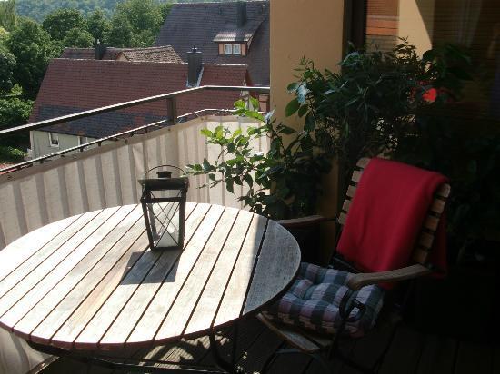 Hotel Laurentius: Balkon Ausblick