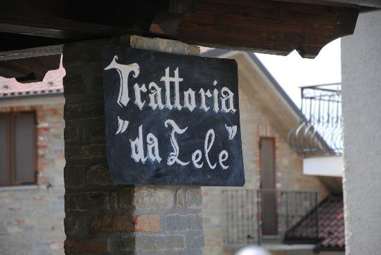 Murazzano, Italy: old sign
