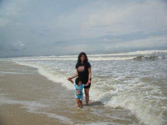 Taj Exotica Goa: Private Beach