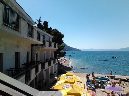 Brist, كرواتيا: view from the terrace