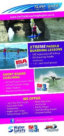 Surf Safe Surf Coaching Raglan : Current flyer