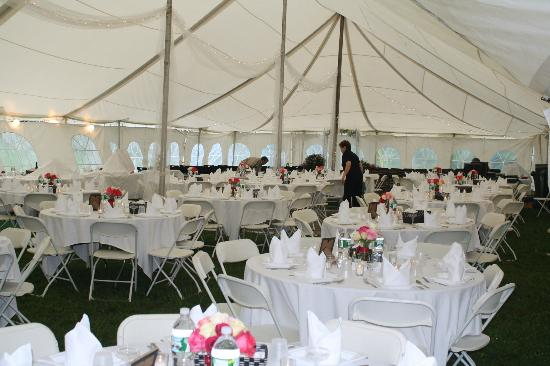 Greenwood Mountain Inn: Wedding and event tent