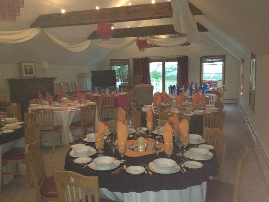 Greenwood Mountain Inn: Function room
