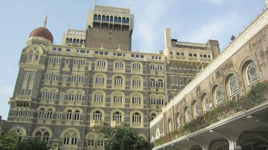 The Taj Mahal Palace : The exterior of this iconic hotel building, unfortunately could not capture the whole facade