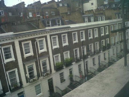 Holly House Hotel: View from room 11