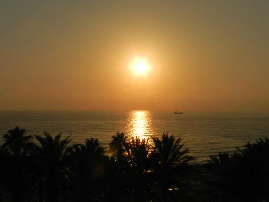 Venus Beach Hotel: View from room 308 - amazing sunset!!!
