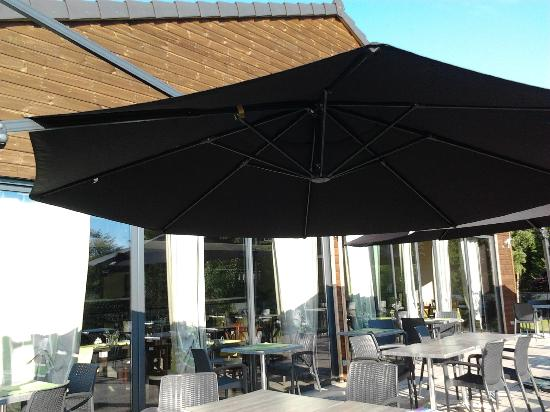 Le Cadusia: la terrasse