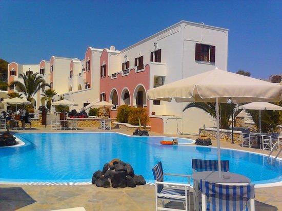Villa Manos: amazing pool view