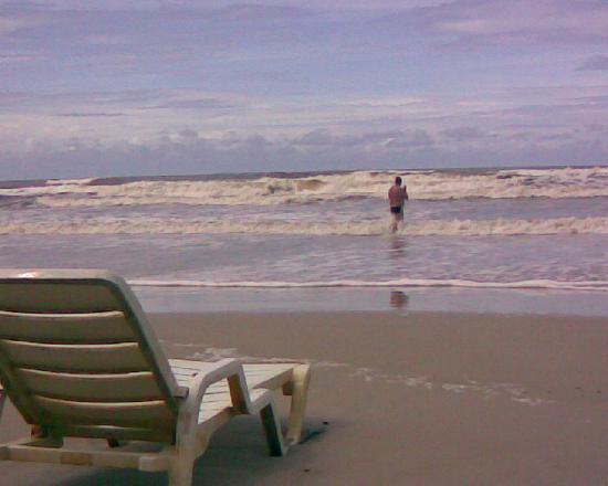 Milionarios Beach : Vista da praia
