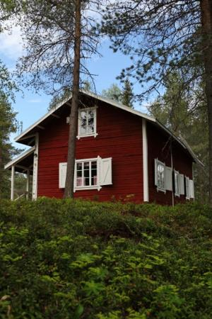 Lapland Forestry Museum: There are many interesting buildings in the museum area; oldest one is from 1904.