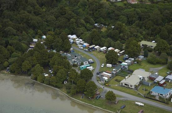 Pounawea Motor Camp : voted the best place to stay in the catlins
