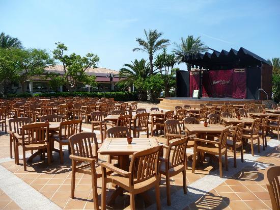 Viva Menorca: Outside Stage area