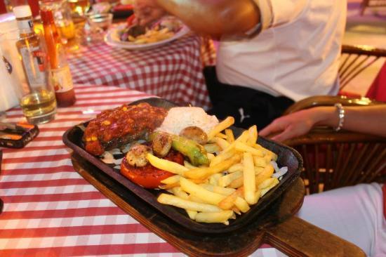 Serhan Hotel: Mexican Steak