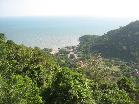 Kep National Park : One of the views (Sunset Rock)