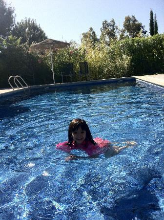 Pool at Cigarral de Caravantes. Simple and fun.