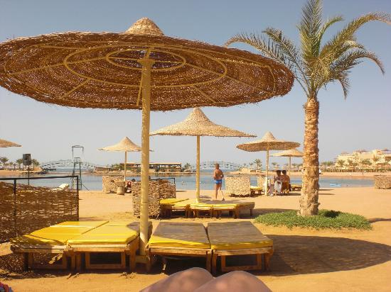 The Desert Rose Resort: beach