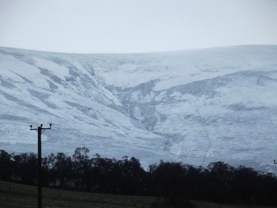J & J B & B: Snow covered Cairngorms