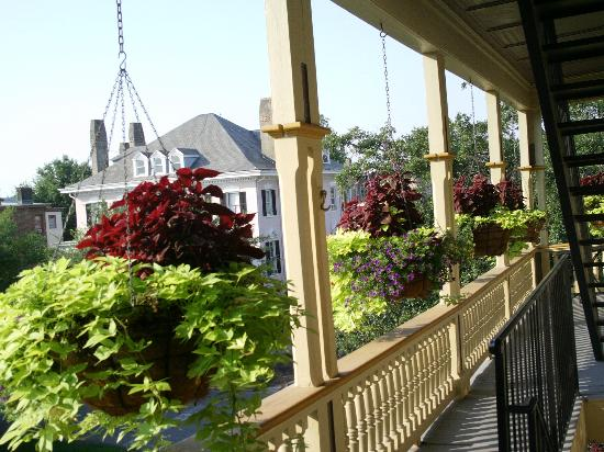 The Gastonian - A Boutique Inn: View from our room/patio